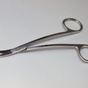 Ножницы Ла Грандж изогнутые 11.5 см / La Grange 11.5 cm Curved with saw edges